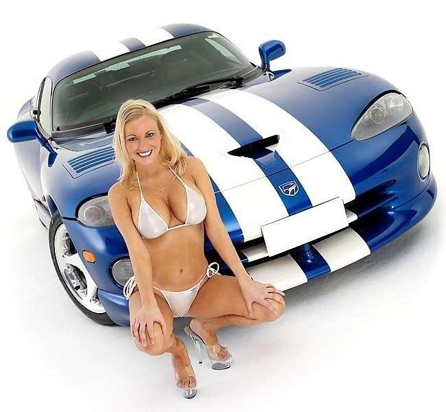voiture femme sexy